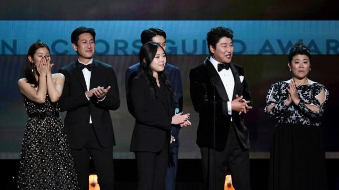 Cho Yeo-jeong, Choi Woo-shik, Lee Jeong-eun,