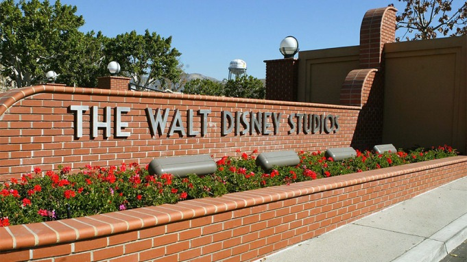 A Gate is Seen at the Entrance to the Walt Disney Company Studios in Burbank California Wednesday 11 February 2004 Cable Tv Giant Comcast Corporation Announced 11 February That It is Seeking to Buy Walt Disney Co For Stock Valued at About $54 Billion the Disney Board Indicated It Would Study the Offer Which Would Create the World's Largest Communications CompanyUsa Entertainment Comcast Disney - Feb 2004