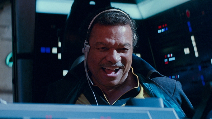 Lando Calrissian (Billy Dee Williams) in