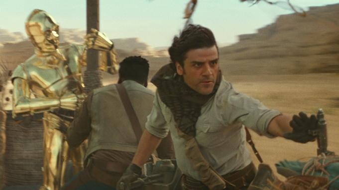 Oscar Isaac Star Wars The Rise