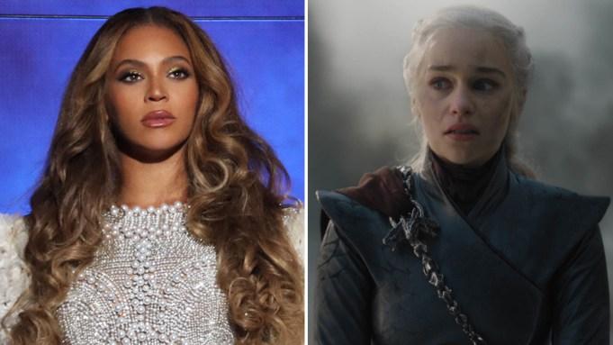 Beyonce Emilia Clarke