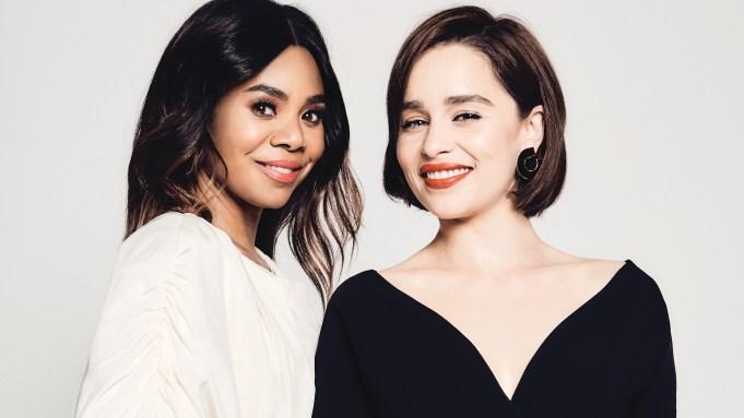 Emilia Clarke and Regina Hall Actors