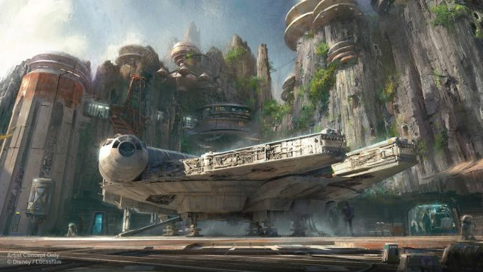 Watch 'Star Wars: Galaxy's Edge' Dedication