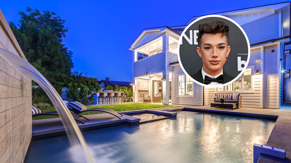 James Charles Leases Encino House Variety