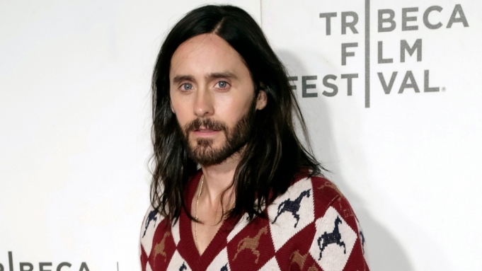 Jared Leto attends the screening for