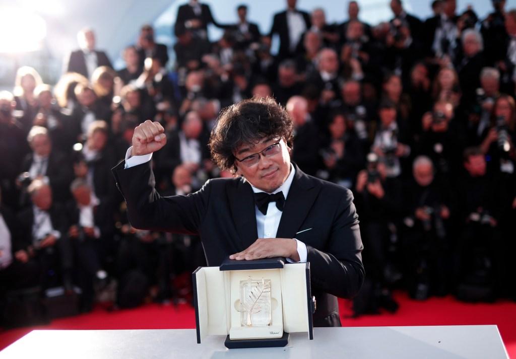 Bong Joon-ho Parasite Cannes Film Festival 2019 Winner