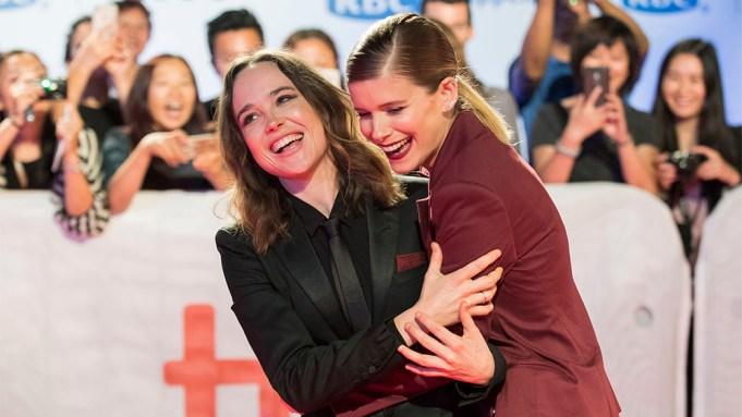 Ellen Page, Kate Mara. Actresses Ellen