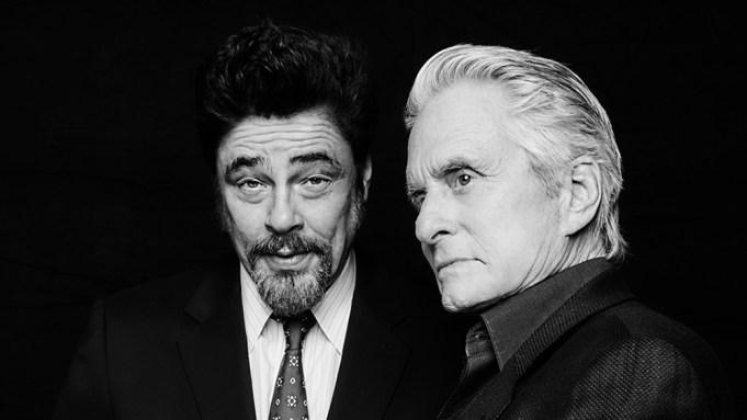 Michael Douglas Benicio Del Toro Variety