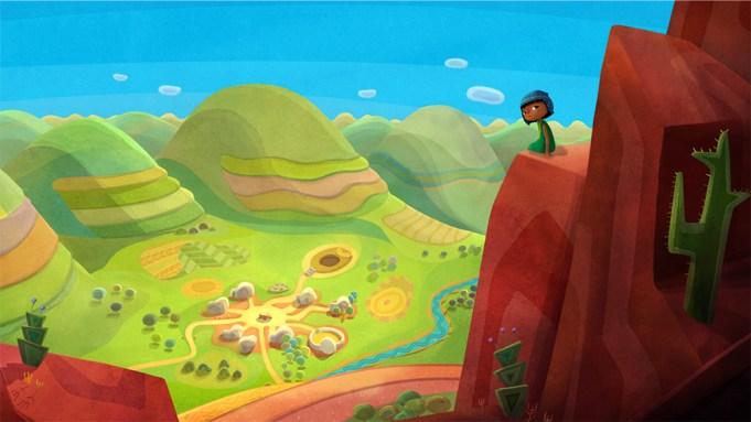 "Cesar Award nominated animated feature film""Pachamam"""