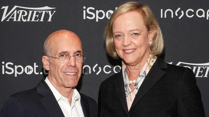 Meg Whitman and Jeffrey Katzenberg Discuss