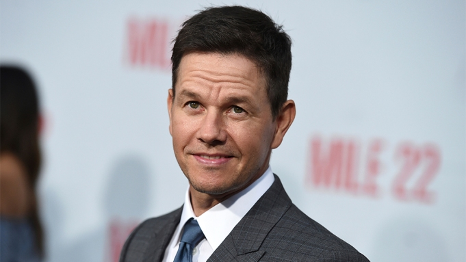 Mark Wahlberg arrives at the Los
