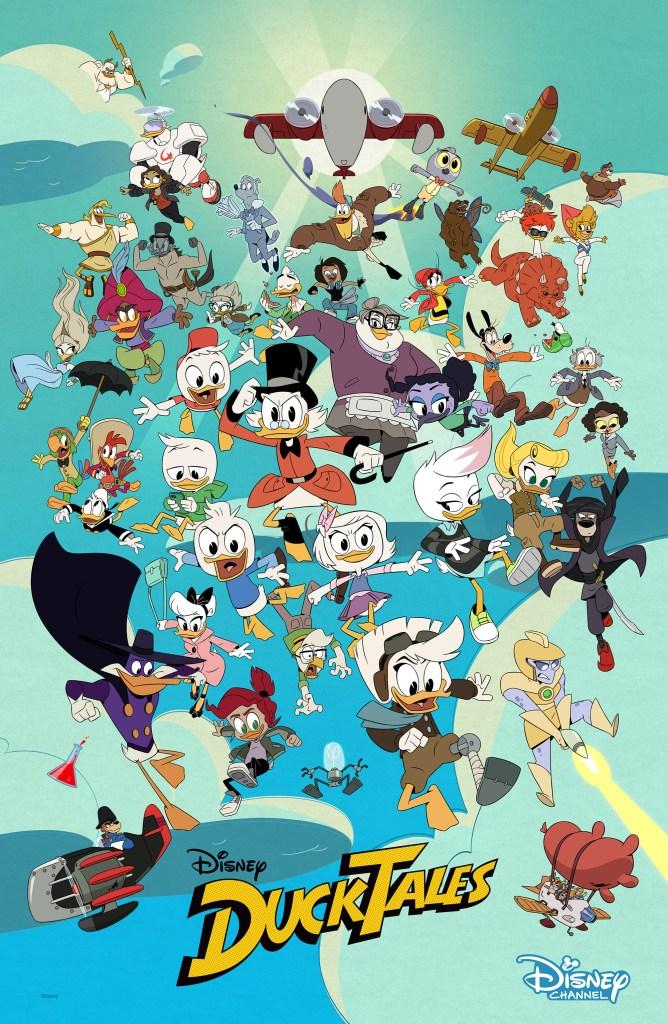 DUCKTALES - Key Art. (Disney Channel)DUCKTALES