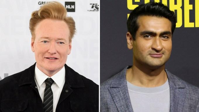 Conan O'Brien Kumail Nanjiani
