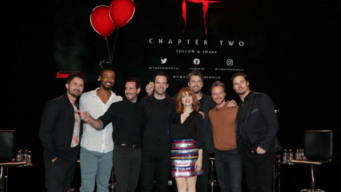 it chapter two, comic con