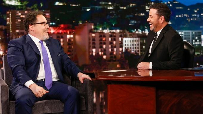 Jon Favreau Jimmy Kimmel