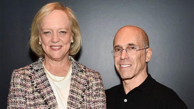 Meg Whitman and Jeffrey Katzenberg Quibi