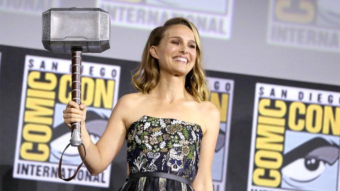 Natalie Portman Thor Comic Con