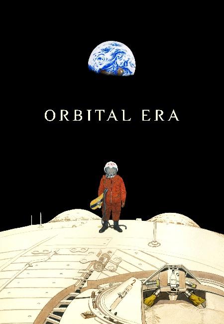 "Poster image for Katsuhiro Otomo's ""Orbital Era"""
