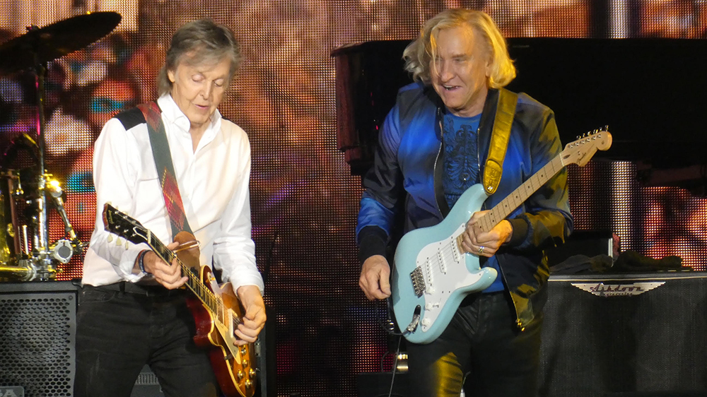 Paul McCartney Joe Walsh