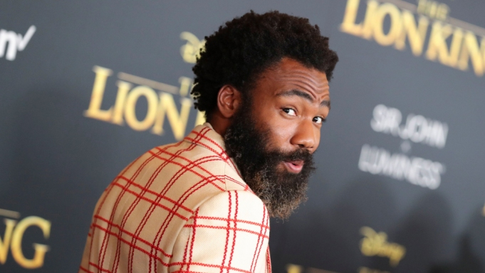 Donald Glover'The Lion King' film premiere,