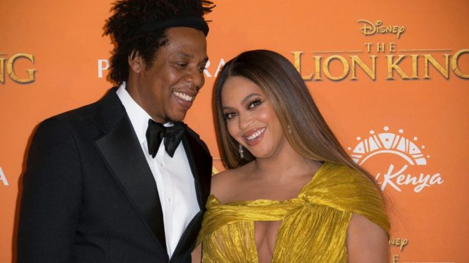 Jay-Z, Beyonce. Singers Jay-Z, left, and