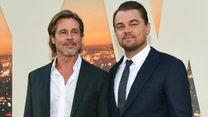 Brad Pitt and Leonardo DiCaprio'Once Upon