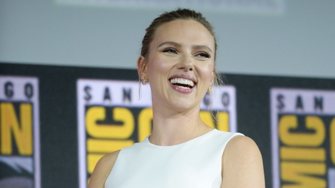 Scarlett JohanssonMarvel Studios panel, Comic-Con International,