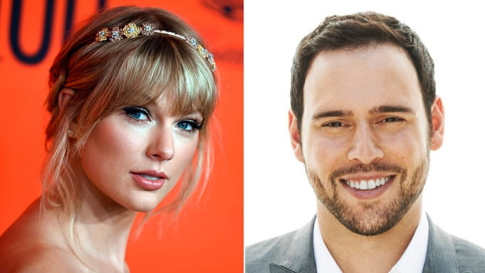 Scooter Braun Congratulates Taylor Swift on