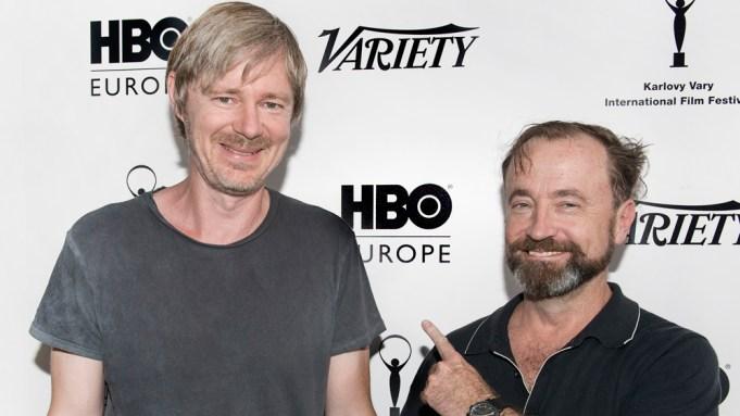 Director Ivan Zacharias and Actor David