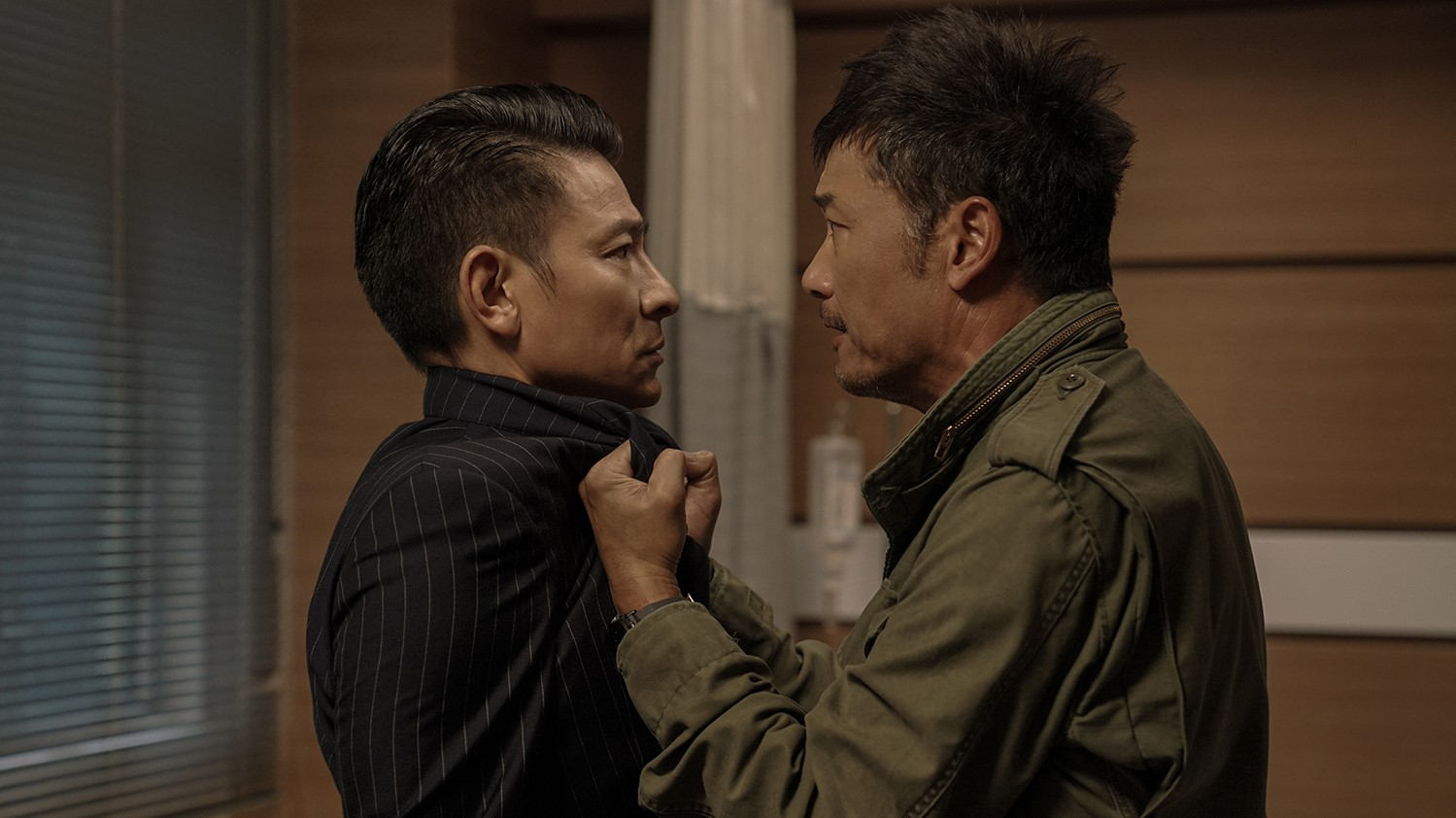 """Andy Lau and Louis Koo star in """"The White Storm"""""""