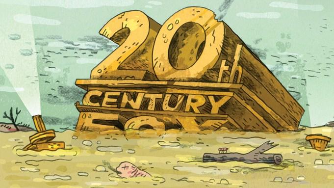 20th Century Fox sinking