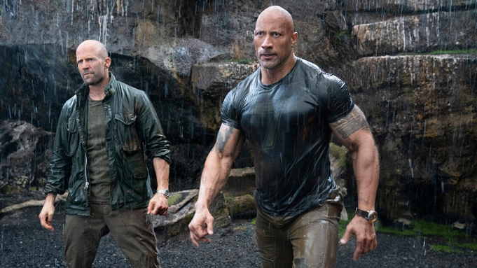(from left) Deckard Shaw (Jason Statham)