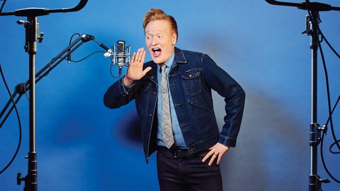 Conan O'Brien Podcast Variety Cover Story