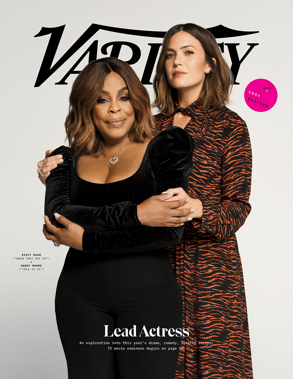 Mandy Moore Niecy Nash Emmy EE Variety Cover