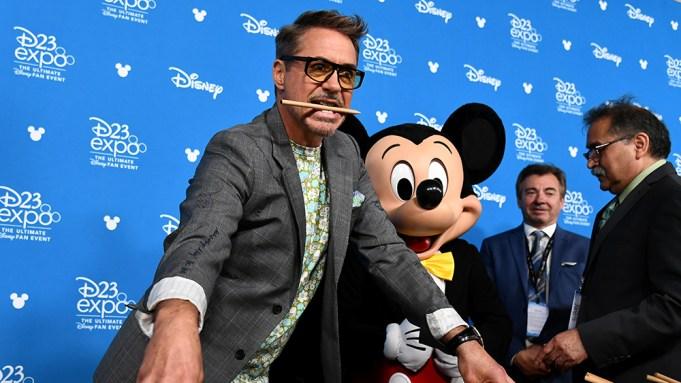 Robert Downey Jr. Disney Legends Ceremony,