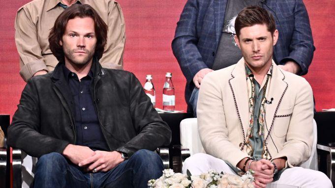 Jared Padalecki and Jensen AcklesCW 'Supernatural'