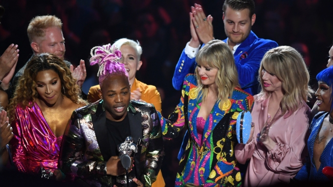 Taylor Swift and Todrick Hall -