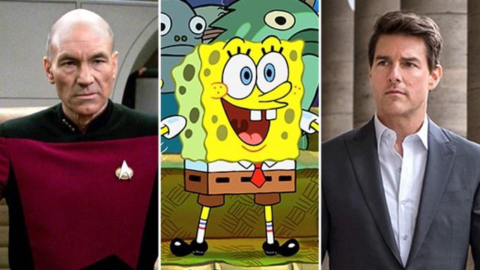 'SpongeBob,' 'Star Trek' and More Franchises