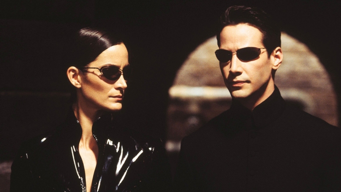 The Matrix Keanu Reeves Carrie Ann