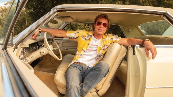 Brad Pitt Once Upon a Time