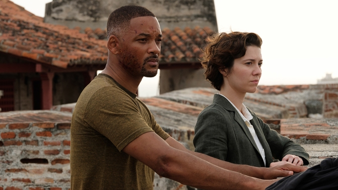 Will Smith and Mary Elizabeth Winstead