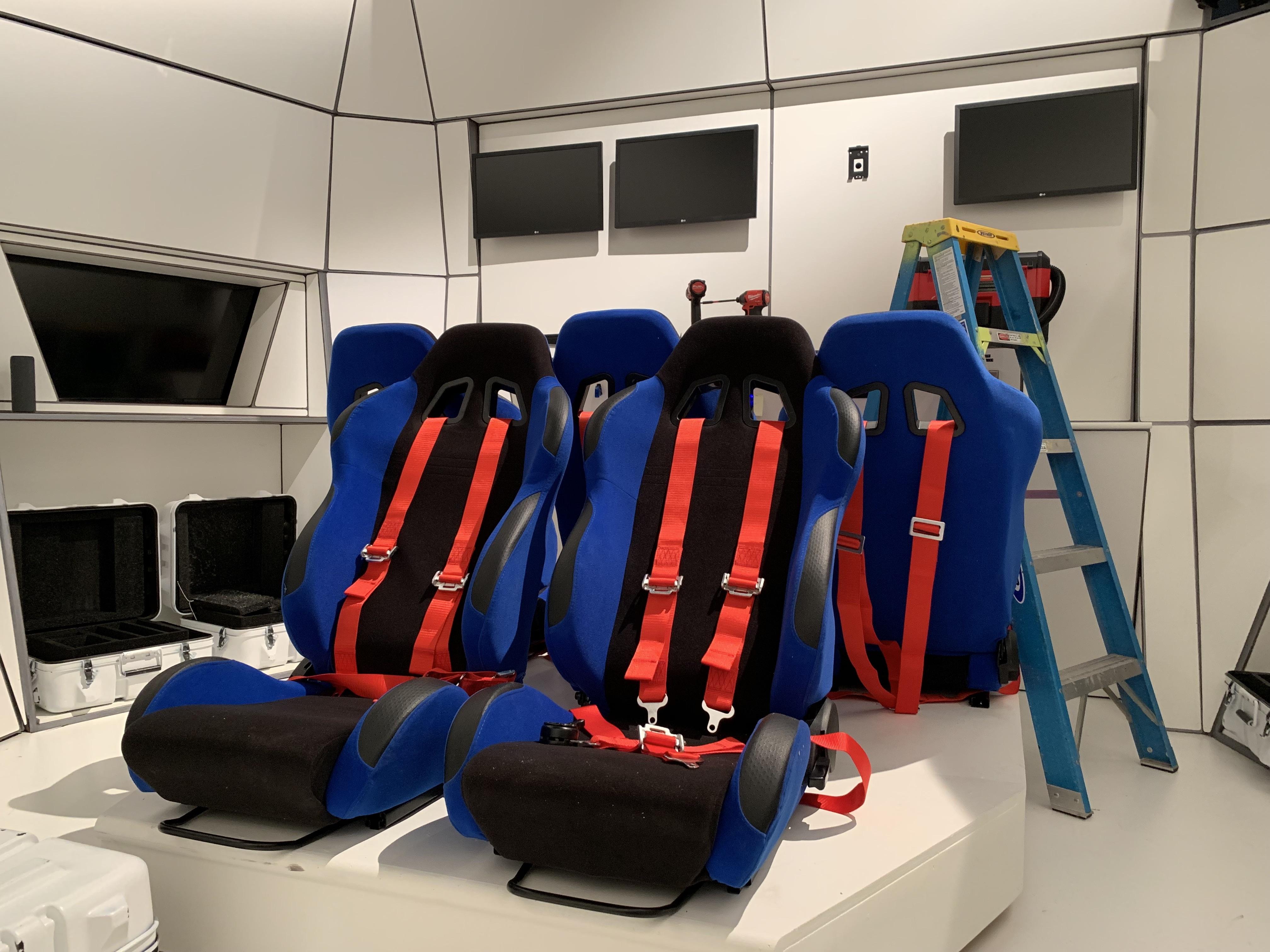 WGBH escape lab set