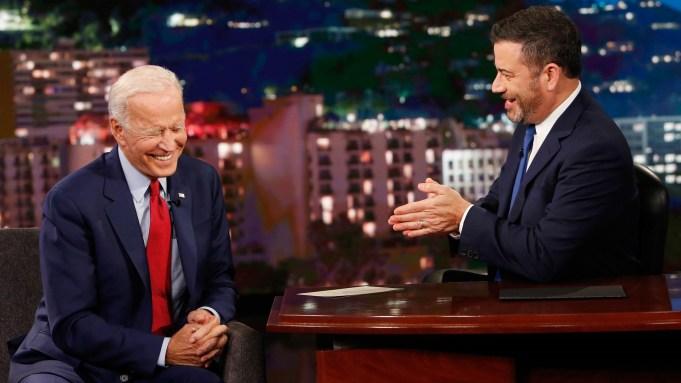 Joe Biden Jimmy Kimmel