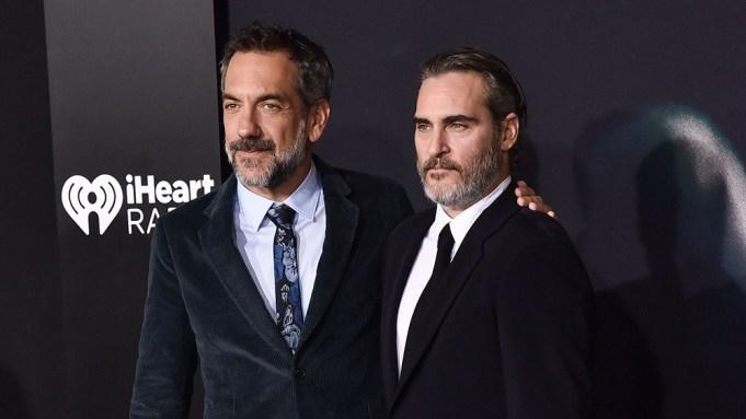Todd Phillips and Joaquin Phoenix'Joker' film
