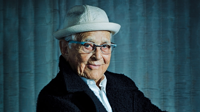 Watch Norman Lear's 99th Birthday Surprise Video From Woody Harrelson and Justin Theroux.jpg