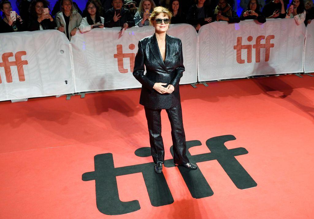 Susan Sarandon 'Blackbird' premiere, Arrivals, Toronto International Film Festival Medical Emergency
