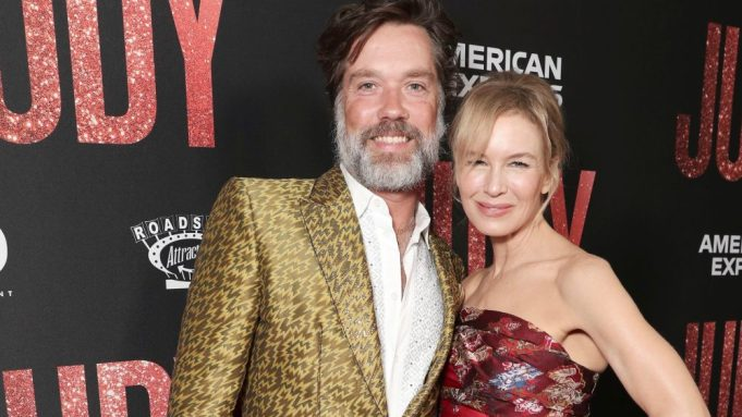 Rufus Wainwright and Renee Zellweger attend