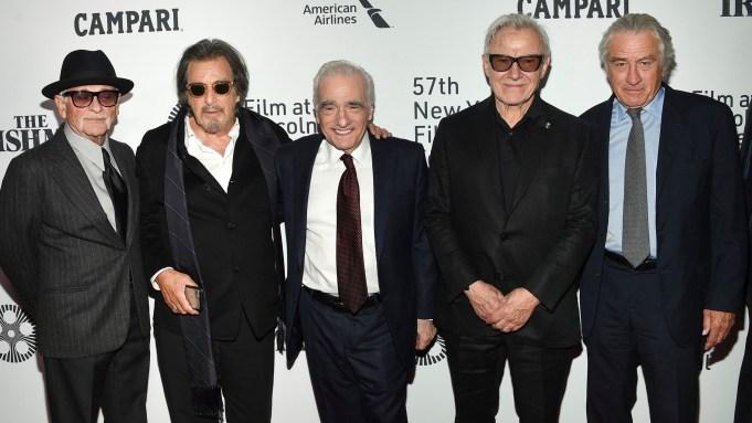 Joe Pesci, Al Pacino, Martin Scorsese,