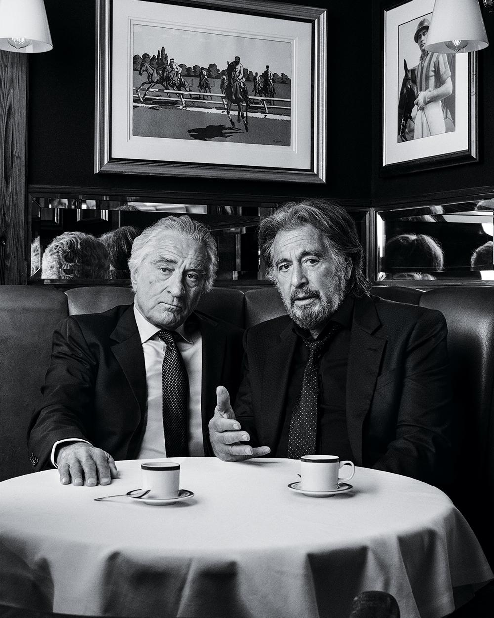 Variety Al Pacino Robert Di Niro New York Issue The Irishman