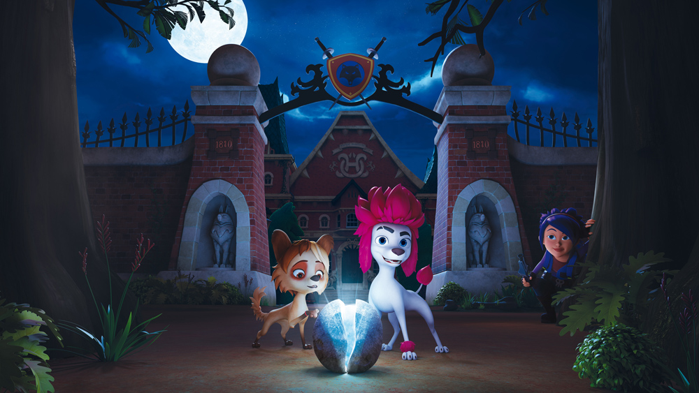 100% Wolf - Legend of the Moonstone' Is Most Viewed Show at MipJunior - Variety